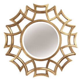 Picture of 40-in Gold Cutout Mirror