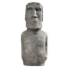 Picture of 30-in. Moai Statue - Gray