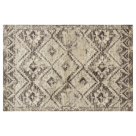 Picture of Brown and Ivory Calypso Rug- 5x7 ft