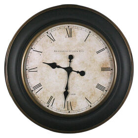 Picture of 30-in Gold and Brown Antique Glenmont Clock