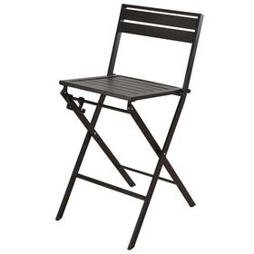Picture of FOSTER FOLDING BAR STOOL BLACK