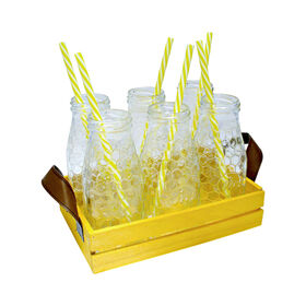 Picture of Honey Bee 13 Piece Milk Bottle Set