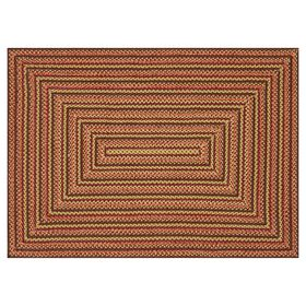 Picture of Red Braided Multicolor Rug 7.6 X 9.6 ft