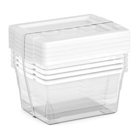 Picture of 5 Pack Small Storage Boxes 2.2 Quarts