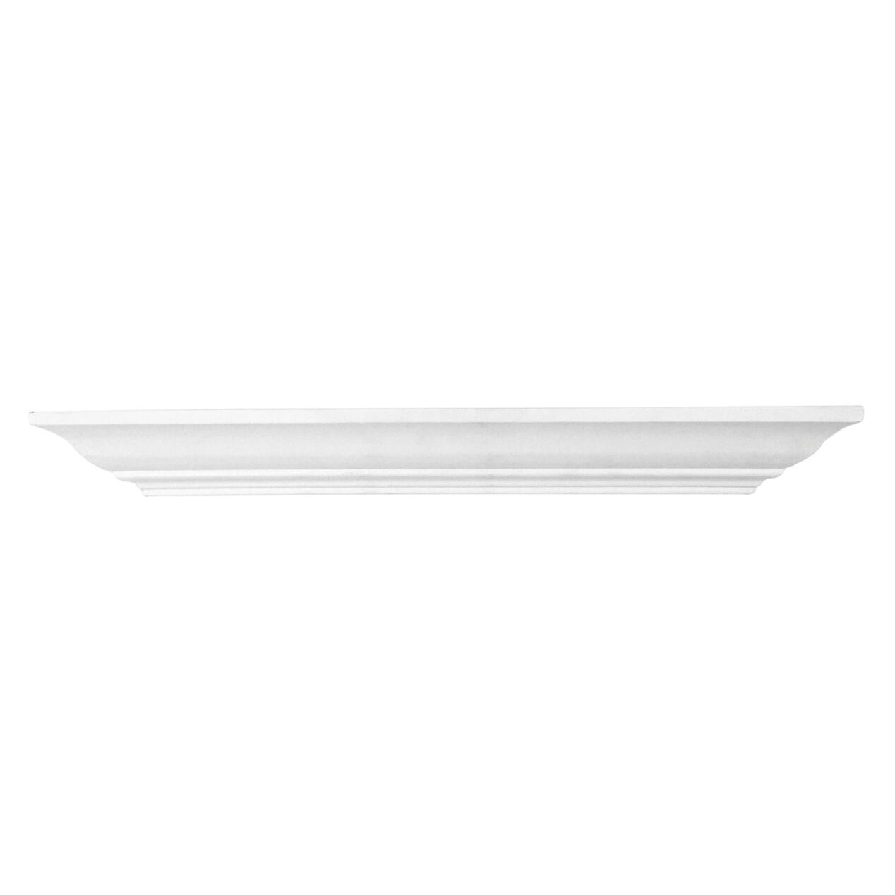 24 X 5 In White Crown Ledge At Home