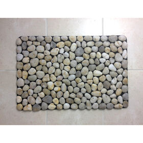 Picture of Ivory River Rock Mat- 15.5x23.5 in.