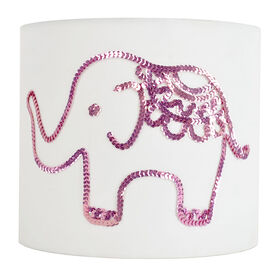 Picture of Pink Elephant Lamp Shade 10X10X9