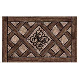 Picture of Rustic Lattice Doormat 24 X 36-in