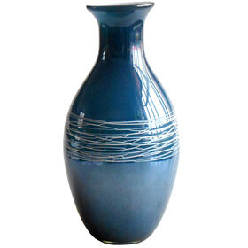 Picture of Blue Vase-12.5-in