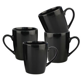 Picture of S/4 12 OZ MUG BLACK