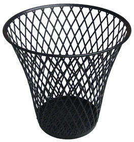 Picture of Wire Wastebasket - Black