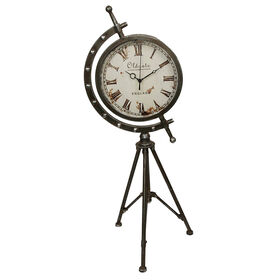 Picture of Metal Tripod Clock - 28 in.