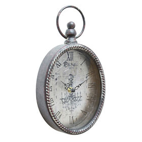 Picture of 7 X 12-in Antique Silver Deep Pocket Watch