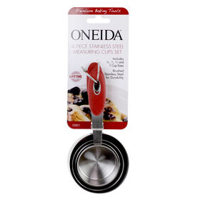 Picture of ONEIDA SS MEAS CUPS RED