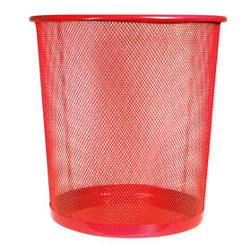 Picture of Mesh Wastebasket - Red