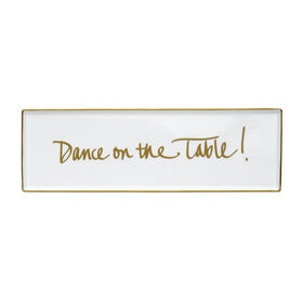 Picture of Dance Porcelain Tray 12x4-in
