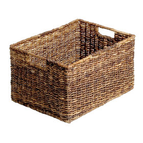 Picture of Abaca Rectangular Basket - Large