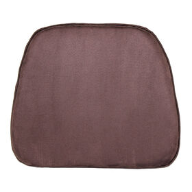 Picture of Brown Foam Suede Chair Pad