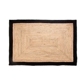 Picture of B269 Jute Braid Rug with Black Border