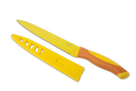 Picture of Carving Knife with Sheath, Yellow