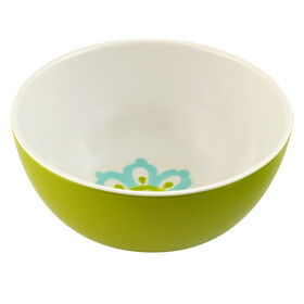 Picture of Green Spanish Tile Melamine Small Rice Bowl
