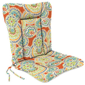 Picture of Amanda Poppy Wrought Iron Hinged Chair Cushion