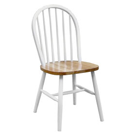 Windsor Chair - White/Natural