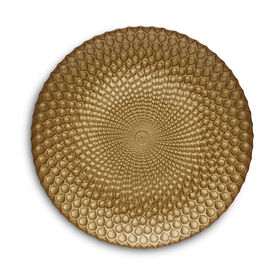 Picture of Gold Easy Exotic Plate 8-in