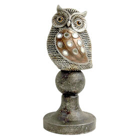 Picture of Gold Owl on Knob