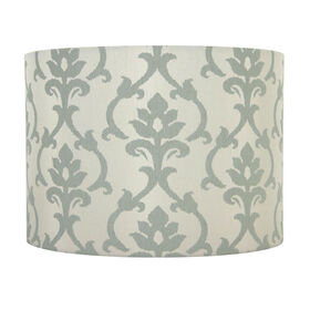 Picture of Screen Print Green Lamp Shade 10 X 10 X 8