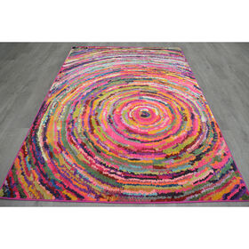 Picture of B251 Multicolor Ripple Casablanca Rug