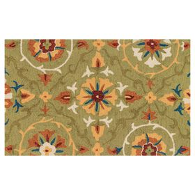 Picture of Layla Green Rug- 27 x 45-in