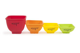 Picture of 4-Piece Essential Round Silicone Measuring Cups, Assorted