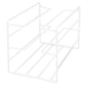 Picture of Wire Kitchen Wrap Organizer - White