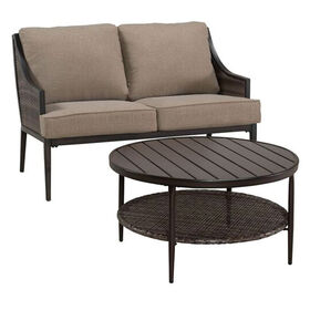 Picture of Stonebridge 2 Piece Settee and Coffee Table Set