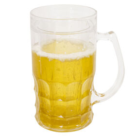 Picture of 22 oz Insulated Beer Stein Glass