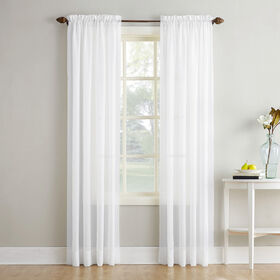 Picture of White Erica Viole Window Curtain Panel 95-in