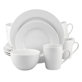 Picture of 16 PC RD DINNERWARE SET WHITE