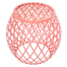 Picture of Latice Bubble Table - Coral 20 in.
