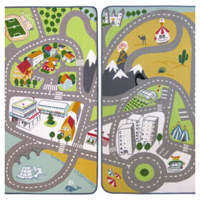 Picture of Rectangular Children's Accent Rug 27.5 X 52-in