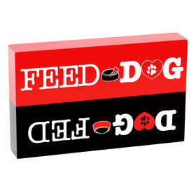 Picture of Dog Feed Box Sign