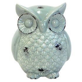 Picture of Antique Sage Ceramic Owl
