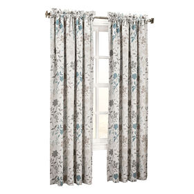 Picture of Stone Ashlyn Pole Top Curtain Panel 84-in