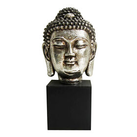 Picture of Budda Head on Black Base
