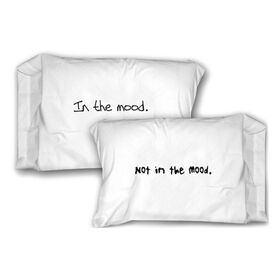 Picture of Not In The Mood Pillowcase- 2 Pack