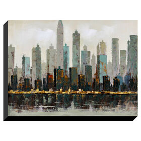 Picture of City Skyline - 36 X 48