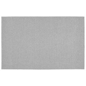 Picture of Solid Silver Town Square Accent Rug 17 X 24-in