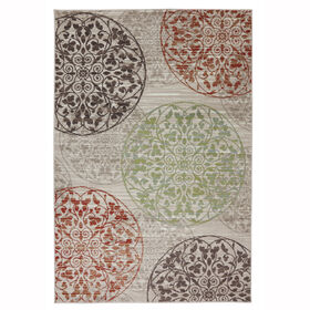 Picture of B92 Elegant Scroll Rug