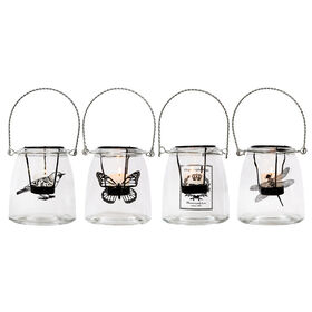 Picture of Assorted Clear Glass Insect Tea Light Holder (sold separately)