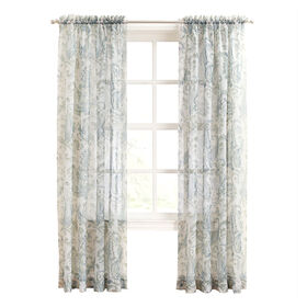 Picture of Ivory Andrea Voile Window Curtain Panel 84-in